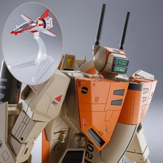 DX Chogokin Macross VF-1D Valkyrie and Fan Racer Bandai Limited