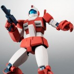 Robot Damashii (side MS) Mobile Suit Gundam RGM-79L GM Light Armor ver. A.N.I.M.E. Bandai Limited