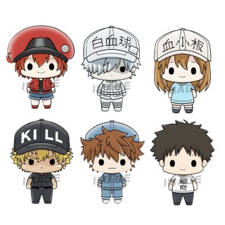 Chokorin Mascot Cells at Work! Pack of 6 MegaHouse