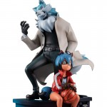 BNA Brand New Animal Michiru Kagemori and Shirou Oogami MegaHouse