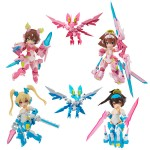 Desktop Army Megami Device Asra Series Pack of 4 MegaHouse