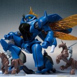 Robot Damashii (side AB) Aura Battler Dunbine Virunvee and Unicorn Wu Bandai Limited