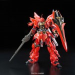 RG Mobile Suit Gundam Unicorn 1/144 MSN 06S Sinanju Plastic Model BANDAI SPIRITS