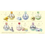Pokemon Dreaming Case3 for Sweet Dreams Pack of 6 RE-MENT