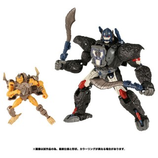 Transformers War for Cybertron WFC 19 Optimus Primal with Rattrap Takara Tomy