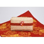 Sakuna Of Rice and Ruin Bamboo Wicker Lunch Box and Cloth Wrap Set Good Smile Company