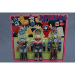 GRENDIZER GAIKING VOLTEZ V POPY VINTAGE SET JAPAN NOT OPEN