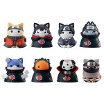 NARUTO Shippuden Final Confrontation with Akatsuki Hidden Village of Leafs Offense and Defense Part Pack of 8 MegaHouse