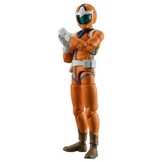 Mobile Suit Gundam G.M.G. Earth Federation Force 04 Normal Suit Soldier MegaHouse