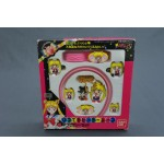 (T3E6) SAILORMOON HAIR ACCESSORY AND NECKLACE VINTAGE BANDAI 1994