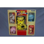 (T13E14) POKEMON PIKACHU PICHU TOMY PLUSH VINTAGE NEW