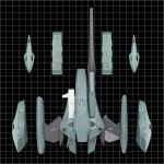 The Super Dimension Fortress Macross II Lovers Again1/60 Kahen VF-2SS Valkyrie II Super Armed Pack