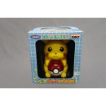 (T4E4) POKEMON PIKACHU ELECTRONIC MONEYBOX WITH LIGHT TORU TORU ITEM BANPRESTO NEW