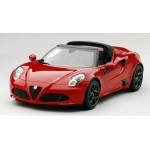 Alfa Romeo 4C Spider Alpha Red 1/18 Sunrich Japan