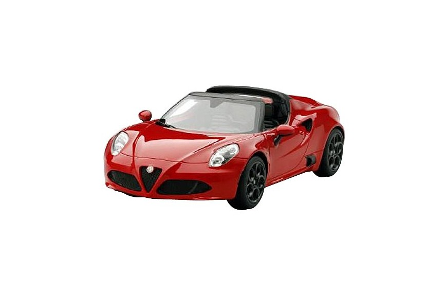 alfa romeo 4c spider alpha red 1 18 sunrich japan mykombini. Black Bedroom Furniture Sets. Home Design Ideas