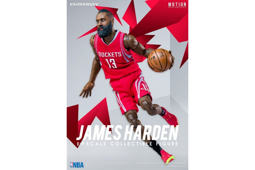 low priced 55533 0f342 Motion Masterpiece Collectible Figure NBA Collection 1 9 James Harden  MM-1202 Enterbay