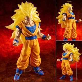 dragon ball z dbz gigantic series son goku super saiyan 3 ssj3 x