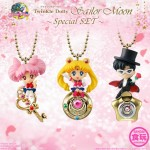 Sailor Moon Twinkle Dolly Sailor Moon Special SET Candy Toy Bandai
