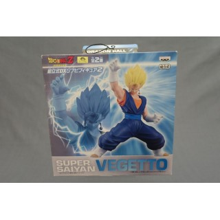 (T7E10) DRAGON BALL Z DBZ SOFT VYNIL SUPER SAIYAN VEGETTO BANPRESTO NEW BOX DAMAGED