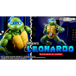 Teenage Mutant Ninja Turtles SH S.H. Figuarts Leonardo Bandai Collector