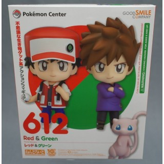 Nendoroid Pokemon Trainer Set Red And Green Special Ver The Pokemon