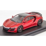 Honda NSX (NC1) 2017 (Carbon Exterior Package) 1/43 Valencia Red Pearl HobbyJAPAN