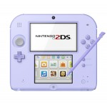 Nintendo 2DS Lavender Japan Version NEW