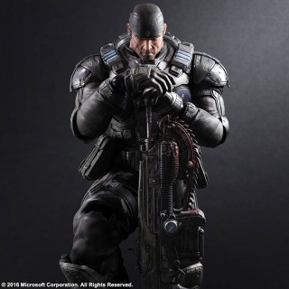 Play Arts Kai Gears Of War Marcus Fenix Square Enix Mykombini