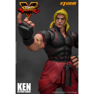 Street Fighter V Action Figure Ken Storm Collectibles Mykombini