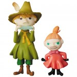 Ultra Detail Figure No.337 UDF MOOMIN Series 1 Snufkin & Little My Medicom Toy