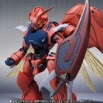 Robot Damashii (side AB) Aura Battler Dunbine Zwarth (Mass production type) Bandai