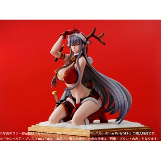 Valkyria Chronicles DUEL Selvaria BlesX'mas Party- 1/7 Complete Figure