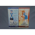 (T6E6) EVANGELION CENTER OF TOKYO-3 SET ASUKA and REI SEGA NEW