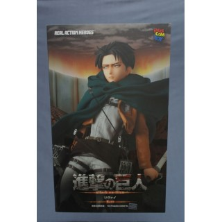 (T14E11) ATTACK ON TITAN LEBI LEVI REAL ACTION HEROES N.662 MEDICOM TOY