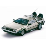 Diecast Model Car Back To The Future Part I De Lorean Mark I 1/18 Sunstar