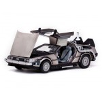 Diecast Model Car Back To The Future Part II De Lorean Mark II 1/18 Sunstar