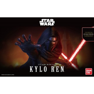 Star Wars Plastic Model Kit 1/12 KYLO REN Bandai