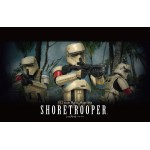 Star Wars Plastic Model Kit 1/12 SHORETROOPER Bandai