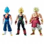 SHODO Dragon Ball Vol.5 set of SSGSS Vegetto Broly & Bardock CANDY TOY Bandai (pack of 6)