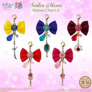 Sailor Moon Ribbon Charm Part 2 (10 Pack BOX) Candy Toy Bandai