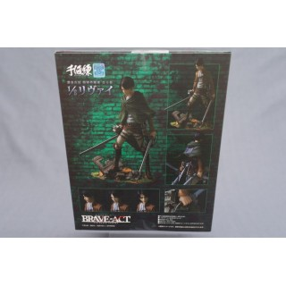 (T7E6) ATTACK ON TITAN BRAVE ACT SERIES 1 LEVI 1/8 SENTINEL