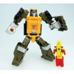 Transformers LG48 Brawn & Repugnus Takara Tomy