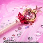 Sailor Moon Proplica Pink Moon Stick Bandai Premium (with Voice)