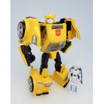 Transformers Legends LG54 Bumblebee & Excel Suit Spike Takara Tomy