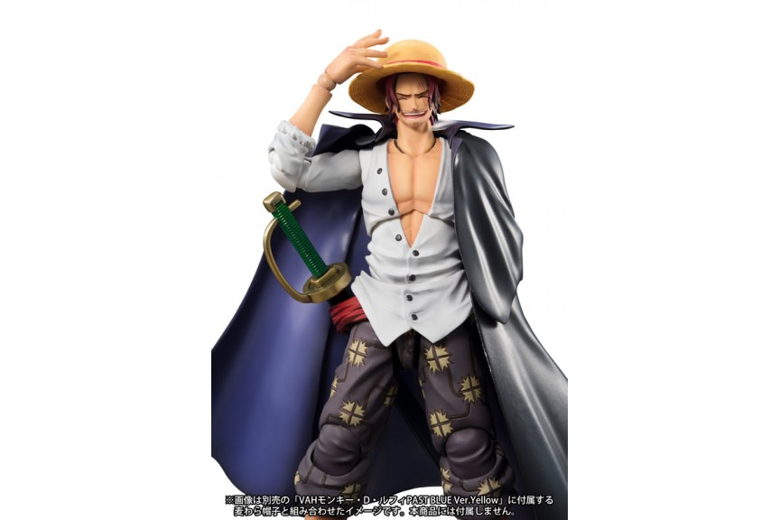 One Piece Red-Haired Shanks Figure BOXED Red Hair Action Figurine Statue Model