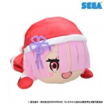 Re:ZERO Starting Life in Another World Nesoberi Plush : RamSanta LL SEGA