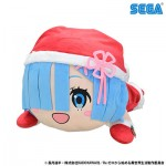 Re:ZERO Starting Life in Another World Nesoberi Plush : RemSanta LL SEGA