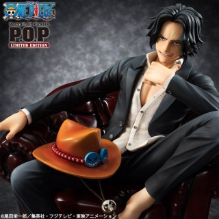 One Piece Portrait of Pirates POP S.O.C Portgas D. Ace Megahouse Limited