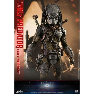Movie Masterpiece AVP2 1/6 Scale Figure Wolf Predator (Heavy Weaponry Ver.) Hot Toys