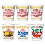 Japanese Cup Noodle assortment set 4 flavors